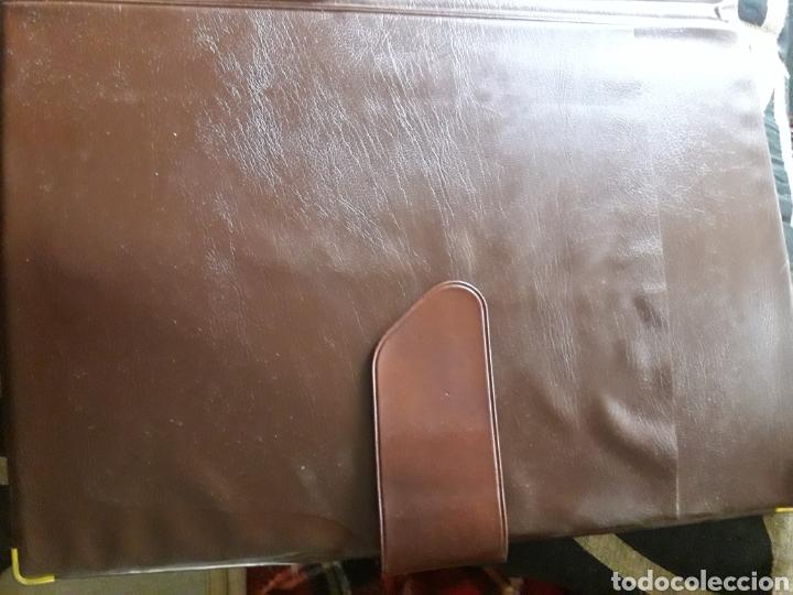 Coleccionismo: Carpeta de piel, portadocumentos, Estado Mayor de la Defensa - Foto 4 - 237314150