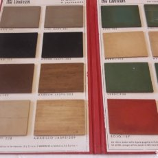 Coleccionismo: LINOLEUM NACIONAL S.A. MUESTRARIO. Lote 238265050