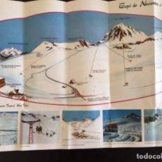 Collectionnisme: PLANO PISTAS ESQUI ESTACION INVERNAL SAN ISIDRO 1973. Lote 238817710