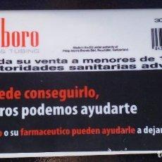 Coleccionismo: CARTERA DE GOMA PROMOCIÓN DE MARLBORO PARA GUARDAR EL TABACO Y EL PAPEL PARA FUMAR SIN USAR. Lote 239659125