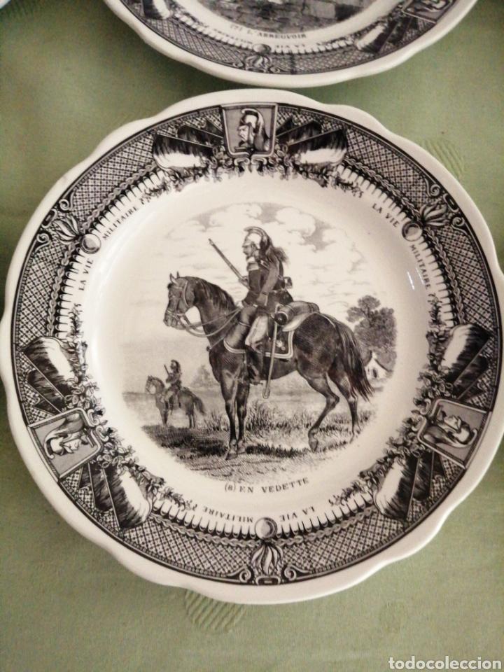 Coleccionismo: Platos en porcelana francesa - Foto 3 - 239820840