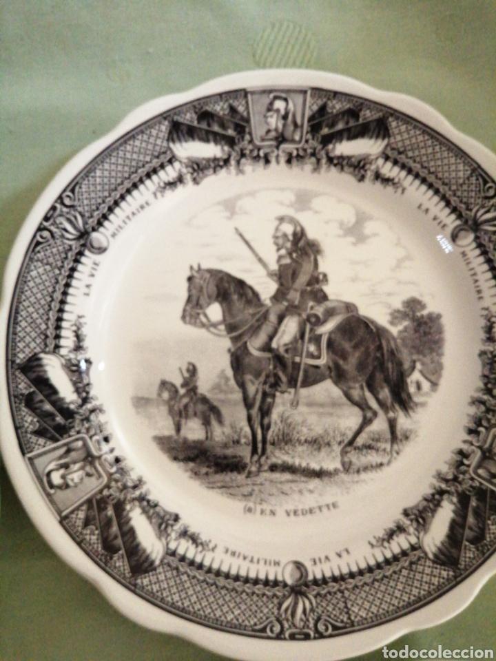 Coleccionismo: Platos en porcelana francesa - Foto 5 - 239820840
