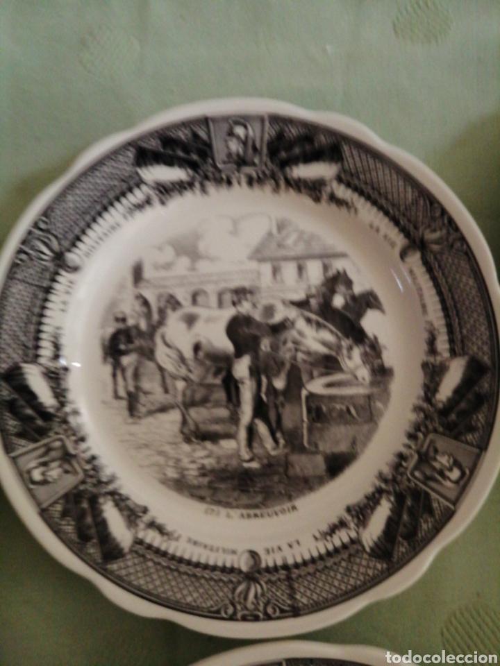 Coleccionismo: Platos en porcelana francesa - Foto 6 - 239820840