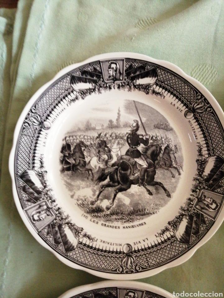Coleccionismo: Platos en porcelana francesa - Foto 7 - 239820840