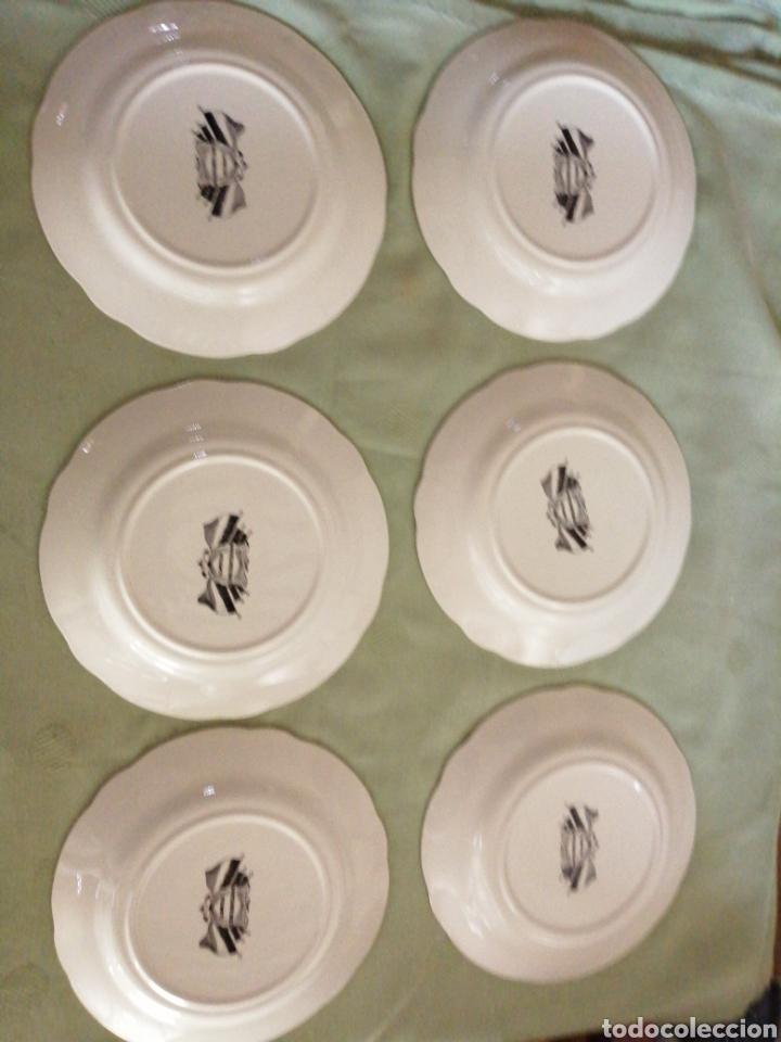 Coleccionismo: Platos en porcelana francesa - Foto 8 - 239820840