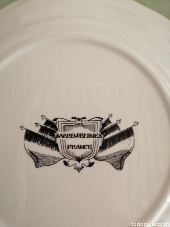 Coleccionismo: Platos en porcelana francesa - Foto 9 - 239820840