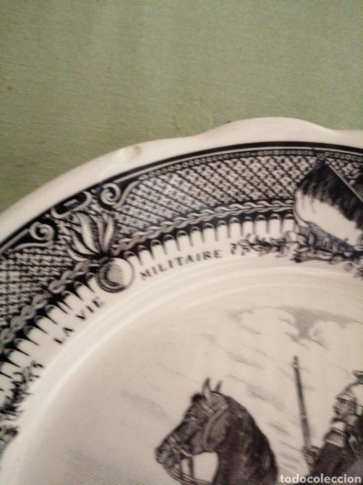 Coleccionismo: Platos en porcelana francesa - Foto 10 - 239820840