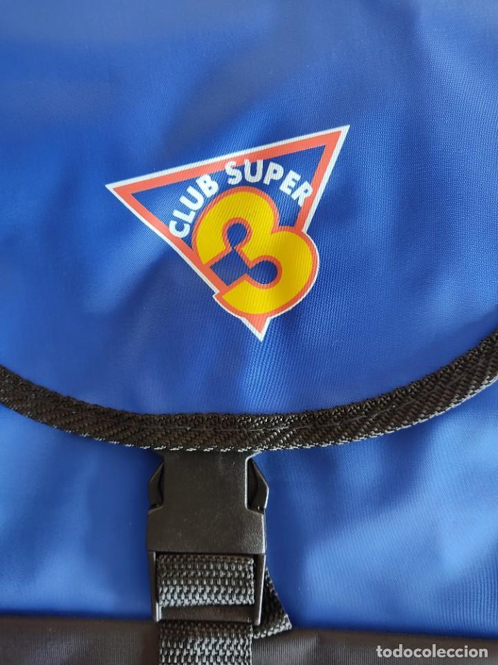 Coleccionismo: Mochila del Club Super 3 Nueva - Foto 2 - 240081070