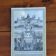 Coleccionismo: TRIPTICO EXPOSICION INTERNACIONAL BARCELONA 1929. Lote 240087435