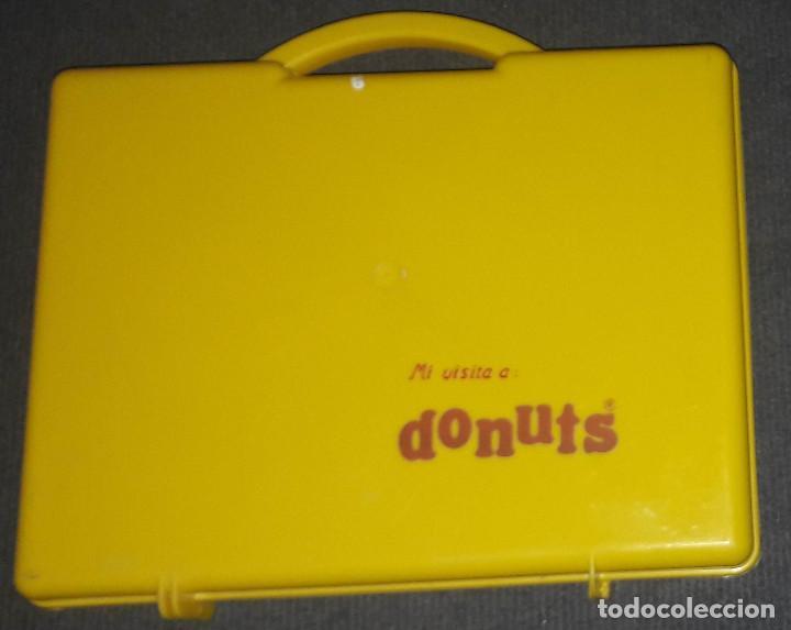 MALETIN DONUTS DONETTES AÑOS 80 (Coleccionismo - Varios)