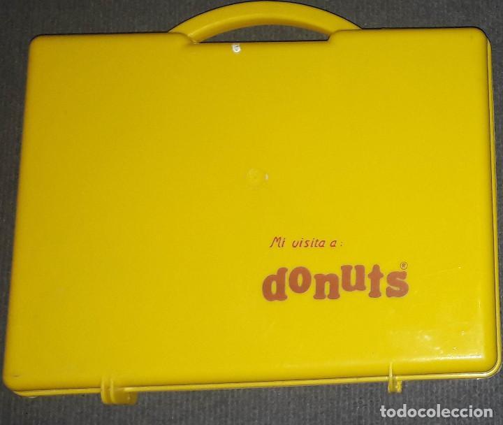 Coleccionismo: MALETIN DONUTS DONETTES AÑOS 80 - Foto 2 - 240384105