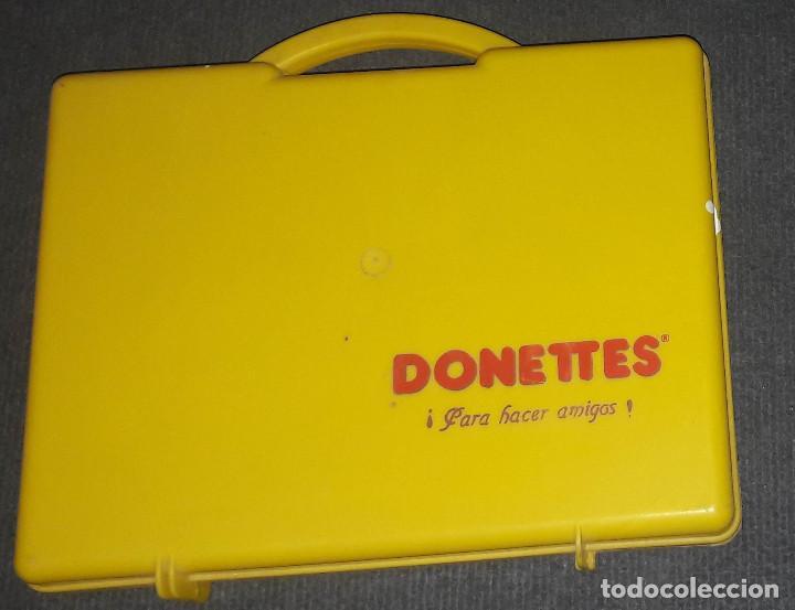 Coleccionismo: MALETIN DONUTS DONETTES AÑOS 80 - Foto 3 - 240384105