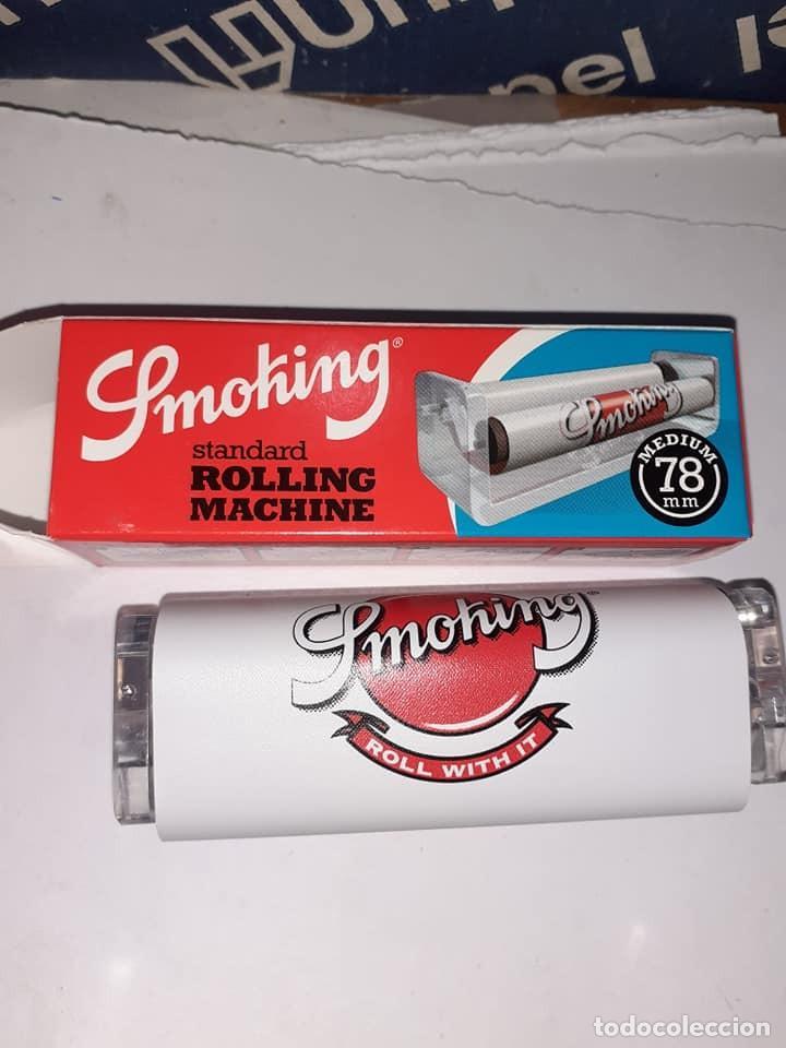 MÁQUINA LIAR TABACO, MARCA SMOKING, NUEVA, SIN ESTRENAR Y EN SU CAJA ORIGINAL (Coleccionismo - Objetos para Fumar - Otros)