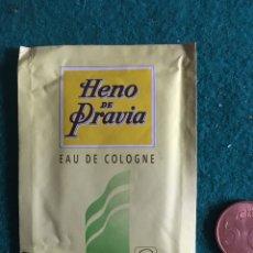 Coleccionismo: TOALLITA REFRESCANTE HENO DE PRAVIA. Lote 240984935