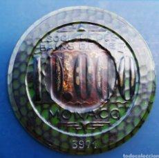 Coleccionismo: FICHA DE CASINO MONACO MONTECARLO 10.000 FRANCOS - 50 MM. NO 3971. Lote 235328600