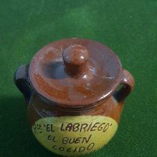Coleccionismo: OLLA DE BARRO. Lote 241817815