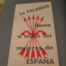 Coleccionismo: TRÍPTICO DE LA FALANGE. Lote 241920585