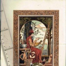"""Coleccionismo: 1924 FOLLETO PUBLICITARIO DEL LIBRO """"CONTES DE BIBLIÒFIL"""" AMB IL.LUSTRACIÓ D´EN JOSEP TRIADÓ. Lote 242312055"""