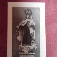 Collectionnisme: MADRID.VIRGEN DEL CARMEN INCENDIADA EL 11 DE MAYO 1931.. Lote 242971980