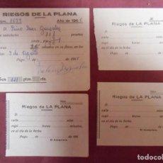 Collectionnisme: PEGO(ALICANTE) RIEGO DE LA PLANA,AÑOS 60.. Lote 242981480