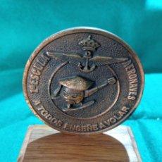 Coleccionismo: PLACA ARMADA ESPAÑOLA AERONAVES HELICÓPTERO BELL 47. Lote 243017440