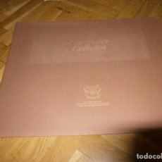 Coleccionismo: THE CONSTITUTION COLLECTION CARPETA FACSIMIL DOCUMENTOS 1787 1987 THE COMMISION ON THE BICENTENIAL. Lote 243463095