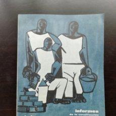 Coleccionismo: INFORMES DE LA CONSTRUCCIÓN. Lote 243932920