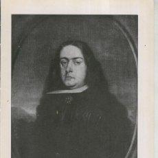 Coleccionismo: LA COLECCION CAMBO, LAMINA 42: BARTOLOME ESTEBAN MURILLO: D.JUAN FRANCISCO DE LA CERDA. Lote 243933480