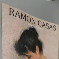 Collezionismo: FOLLETO RAMON CASAS. EXPOSICION ORGANIZADA POR EL BANCO DE BILBAO. MADRID. MAYO-JUNIO 1983.. Lote 243957290