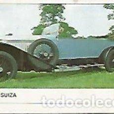 Coleccionismo: CROMO 387 ALBUM COCHES MOTOR 16: HISPANO SUIZA. Lote 244467910