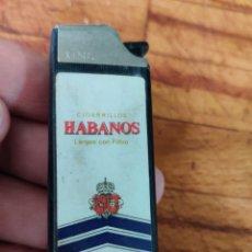 Coleccionismo: MECHERO CLIPPER KING HABANOS. Lote 244855095