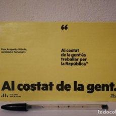 Coleccionismo: CARTA ELECTORAL SIN ABRIR - GENTE 14F - ERC - PARLAMENTO CATALUÑA ESPAÑA - POLITICA. Lote 244954180