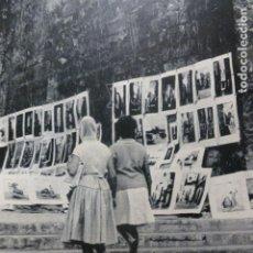 Coleccionismo: PALMA DE MALLORCA ESCENA URBANA ANTIGUO HUECOGRABADO. Lote 245074930