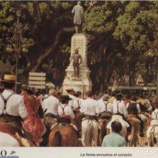 Coleccionismo: LAMINA DIARIO COSTA DEL SOL. LA FIESTA ENVUELVE EL CORAZON. FOTO P. PONCE 31,8X21,8 CM. LAMAL-006. Lote 245176420
