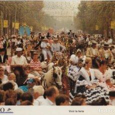 Coleccionismo: LAMINA DIARIO COSTA DEL SOL. VIVIR LA FERIA. FOTO P. PONCE 31,8X21,8 CM. LAMAL-008. Lote 245176675