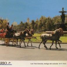 Coleccionismo: LAMINA DIARIO COSTA DEL SOL. LAS TRES GRACIAS, TESTIGO DE LA FERIA 31,8X21,8 CM. LAMAL-011. Lote 245182150