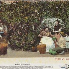 Coleccionismo: LAMINA DIARIO COSTA DEL SOL. PATIO DE UN VENTORRILLO. 31,8X21,8 CM. LAMAL-016. Lote 245182945