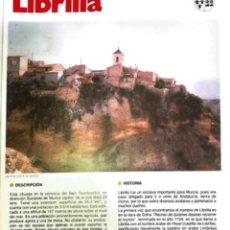 Coleccionismo: LIBRILLA MURCIA. Lote 245199165