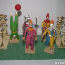 Coleccionismo: ANTIGUAS FIGURAS DE PLOMO....MUY BONITAS.. Lote 245200285