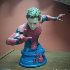 Coleccionismo: ESTATUA SPIDERMAN TOM HOLLAND EN RESINA. Lote 245788110