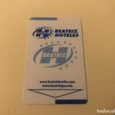 Coleccionismo: TARJETA MAGNÉTICA DE HOTEL LLAVE PLÁSTICO CARD KEY ENVÍO GRATIS. Lote 246007355