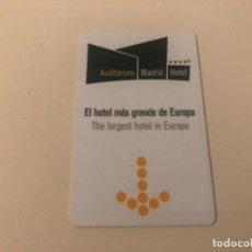 Coleccionismo: TARJETA MAGNÉTICA DE HOTEL LLAVE PLÁSTICO CARD KEY ENVÍO GRATIS. Lote 246007380