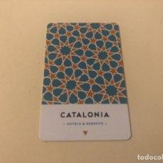 Coleccionismo: TARJETA MAGNÉTICA DE HOTEL LLAVE PLÁSTICO CARD KEY ENVÍO GRATIS. Lote 246008215