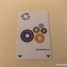 Coleccionismo: TARJETA MAGNÉTICA DE HOTEL LLAVE PLÁSTICO CARD KEY ENVÍO GRATIS. Lote 246008740