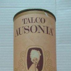 Coleccionismo: TALCO AUSONIA ANTIGUO BOTE SIN ABRIR. 22 PESETAS. 236 GRAMOS. Lote 246020435