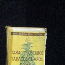 Coleccionismo: TABACOS OSCUROS Y TABACOS CLAROS EN ESPAÑA - FERNANDO DE MONTERO. Lote 246113750