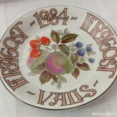 Coleccionismo: PLATO PORCELANA ISARD - FIRAGOST 1984. Lote 246514200