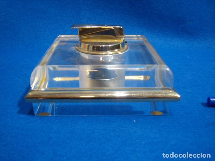 Coleccionismo: Juego fumador metraquilato filo dorado, años 80, Nuevo sin usar. - Foto 4 - 247369425