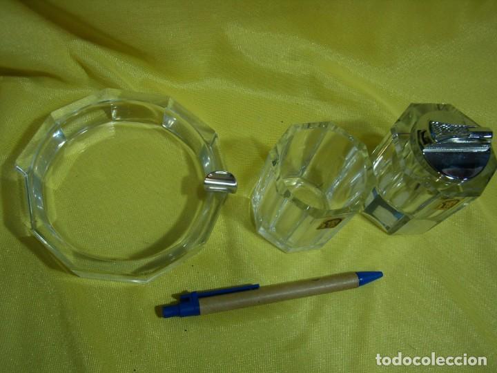 Coleccionismo: Juego fumador cristal , años 80, Nuevo sin usar. - Foto 4 - 247488930