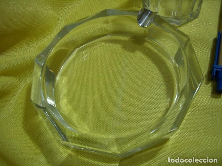 Coleccionismo: Juego fumador cristal , años 80, Nuevo sin usar. - Foto 5 - 247488930